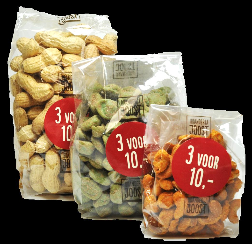 Snacks 3 voor 10