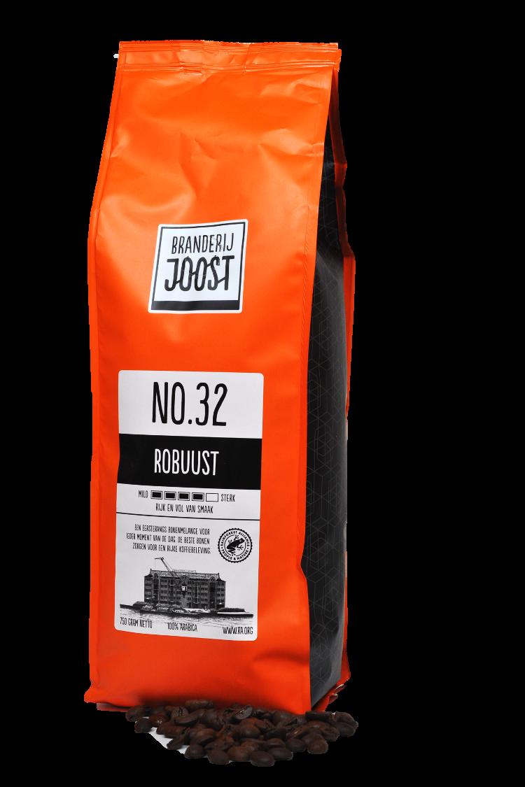 Koffie No.32 Robuust 750g