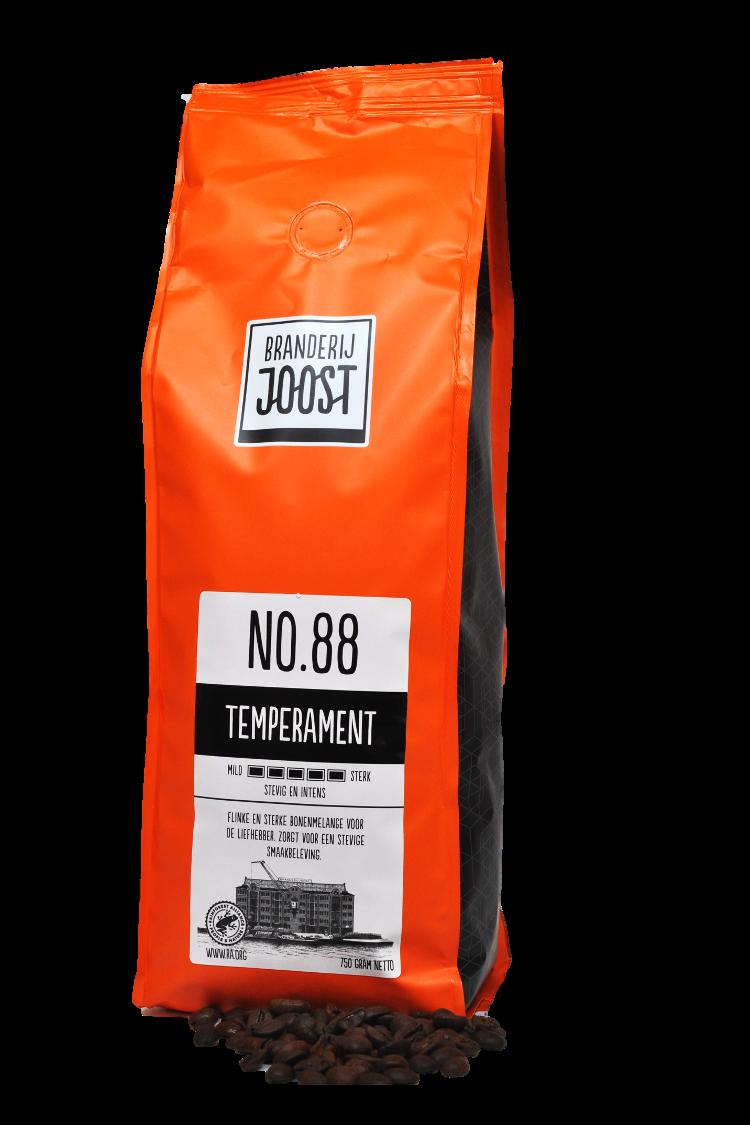 Koffie No.88 Temperament 750g