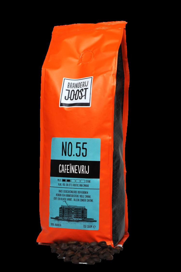 Koffie No.55 Cafeïnevrij 750g